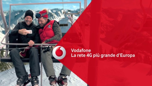 Vodafone Christmas Card con streaming video illimitato