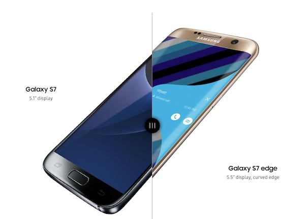 Galaxy S7 e S7 edge Nougat risoluzione Display