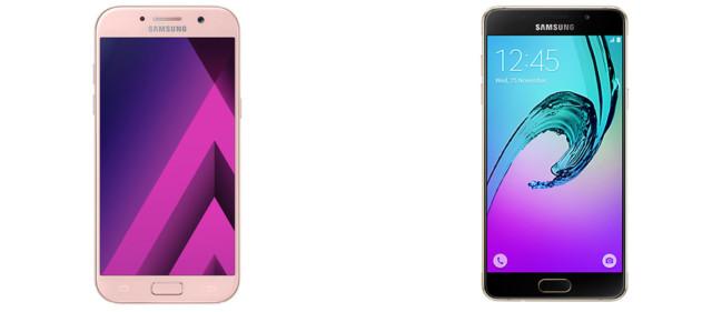 Galaxy A5 2017 vs Galaxy A5 2016