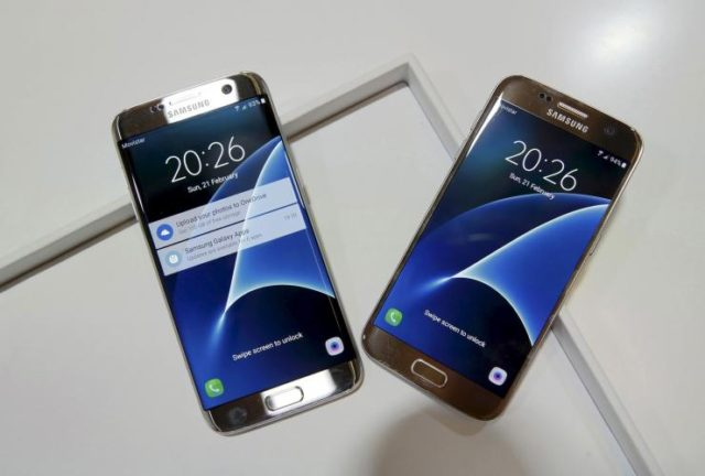 Galaxy S7 e S7 Android Nougat Germania