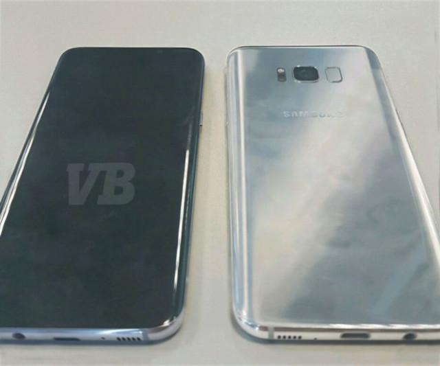 Galaxy S8 immagine dal vivo e dettagli fondamentali