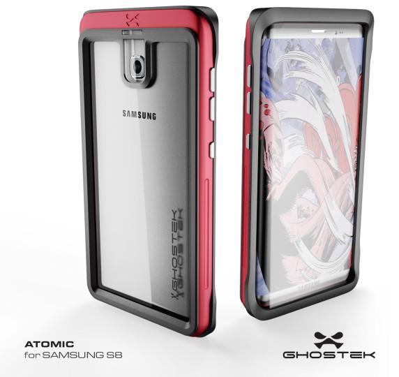 Galaxy S8 rumors: design case protettivo