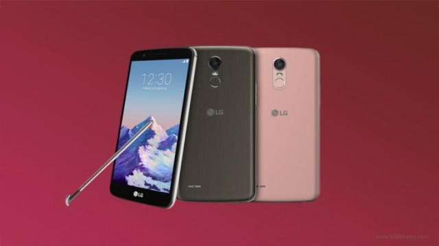 LG Stylo 3 ufficiale al CES 2017