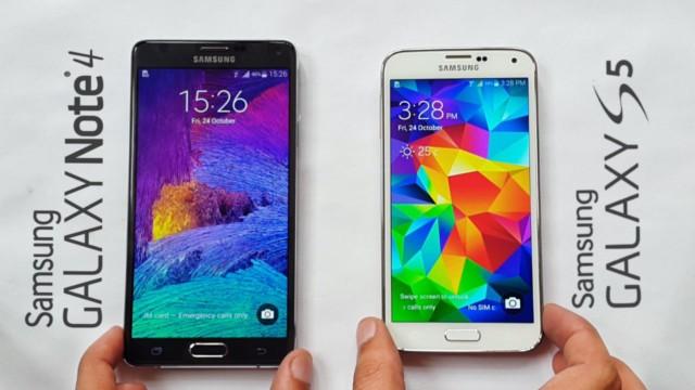 Galaxy Note 4 e Galaxy S5 aggiornamento firmware