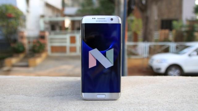 Galaxy S7 e S7 Edge Nougat in Cina e Gran Bretagna