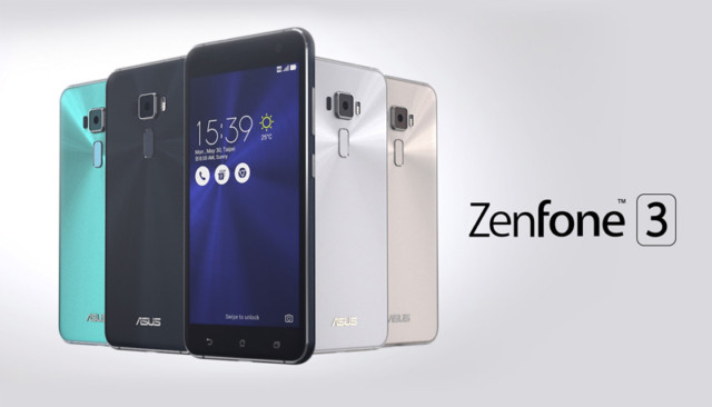 Asus Zenfone 3 Android Nougat