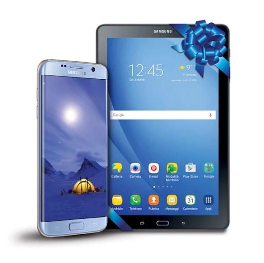 Galaxy S7 con Galaxy Tab A prezzo sottocosto