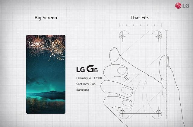 LG G6 MWC 2017 teaser