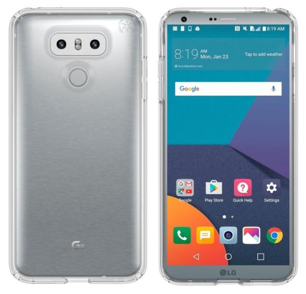 LG G6 vs Galaxy S8 cases protettivi