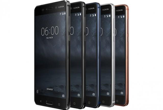 Nokia 6, Nokia 5, Nokia 3 MWC 2017