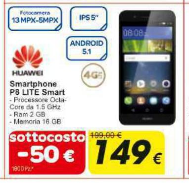 Huawei P8 Lite Smart sottocosto