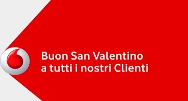 Vodafone ricarica San Valentino