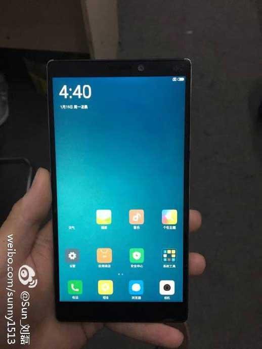 Xiaomi Mi6 immagini dal vivo?