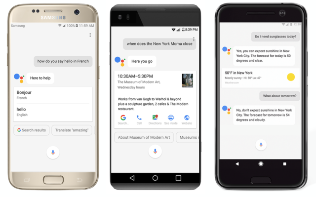 Google Assistant su Android Nougat e Marshmallow