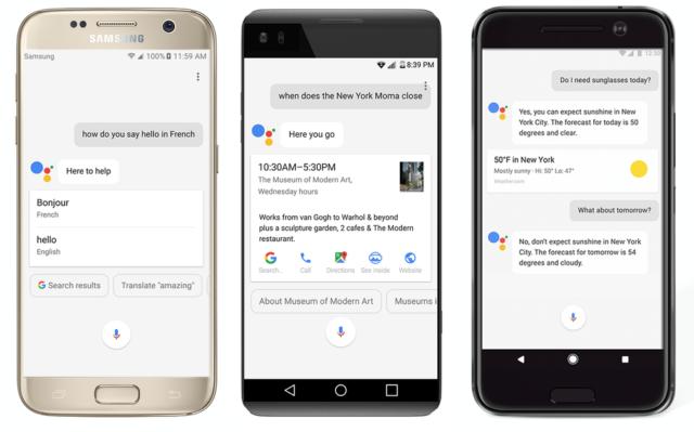 Google Assistant su Android Nougat e Marshmallow