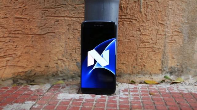 Galaxy S7 Tre Italia Nougat