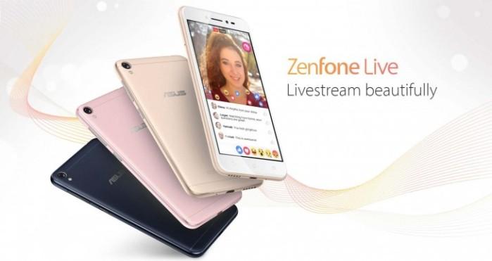 Asus Zenfone Live ufficiale