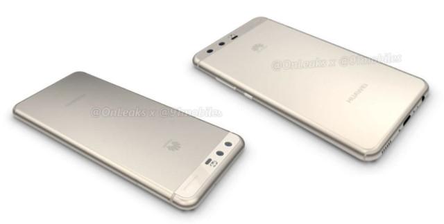 Huawei P10 colori e nuovo render 3D 360 gradi