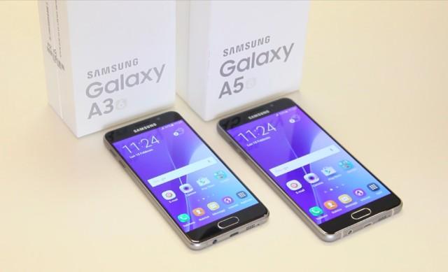 Galaxy A5 e A3 2016 aggiornamento firmware