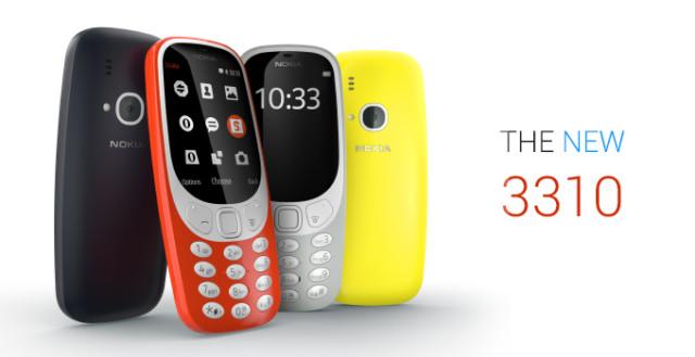 Nokia 3310 2017 svelato al MWC