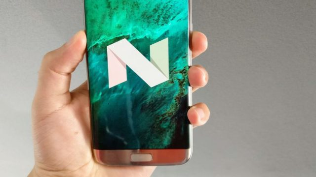 Samsung Galaxy S6 arriva Android Nougat