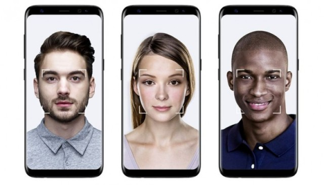 Galaxy S8 riconoscimento facciale non sicuro