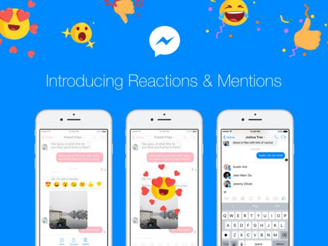 Facebook Messenger aggiornamento