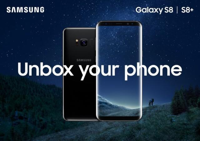 Galaxy S8+ con 6GB di ram e 128GB di rom