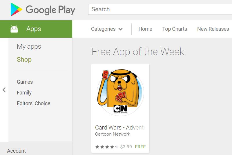 Google Play Store App of the week
