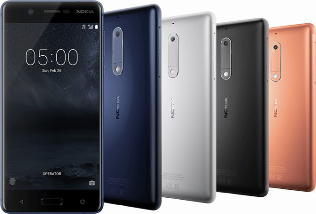 Nokia 5, Nokia 3 e Nokia 6 dual sim: le differenze