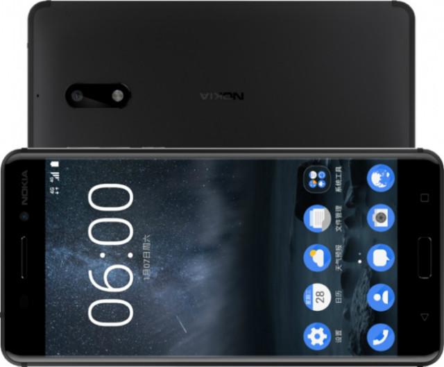 Nokia 6 test resistenza