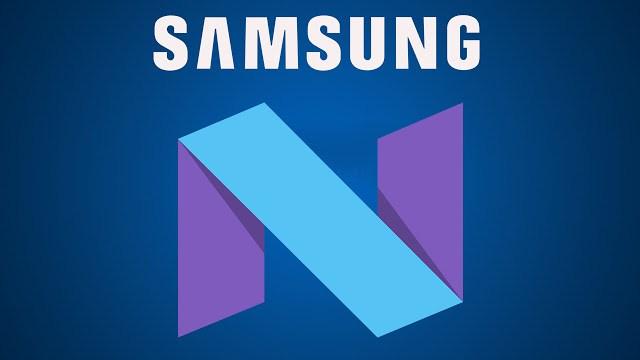 Android Nougat Galaxy S7 NO Brand e Vodafone