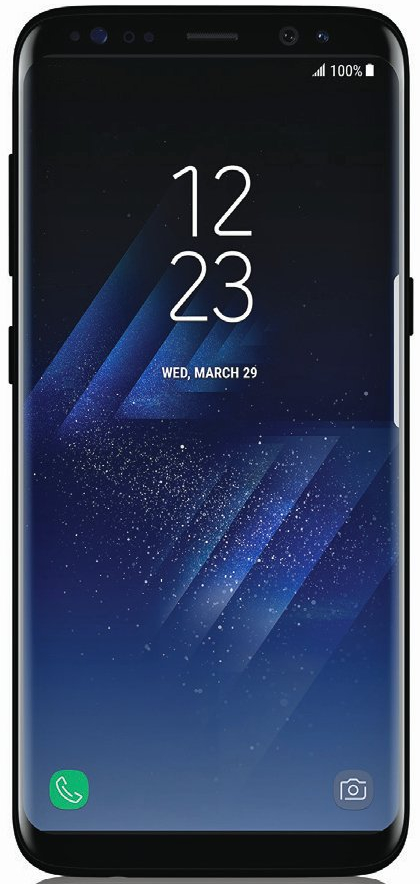 Galaxy S8 immagine render ufficiale