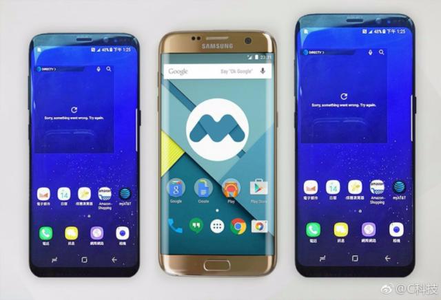 Galaxy S8 e S8+ comparato con Galaxy S7 Edge e Note 7 in immagini dal vivo