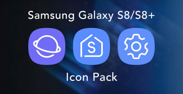 Galaxy S8 Icon Pack per Smartphone Android