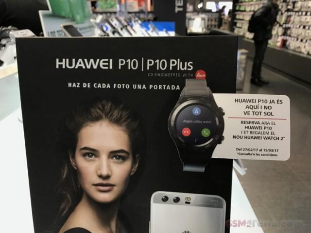 Huawei P10 e P10 Plus pre ordine