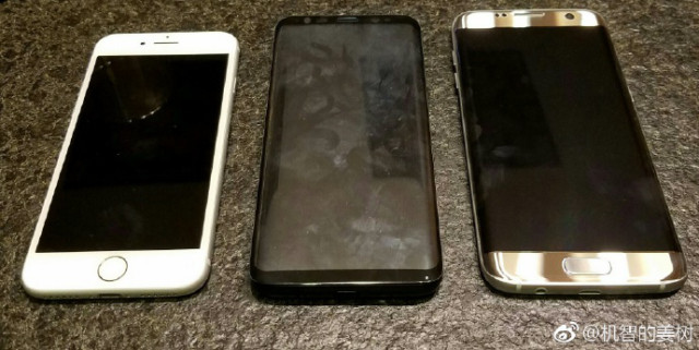 iPhone 7 vs Galaxy S8 vs Galaxy S7 Edge