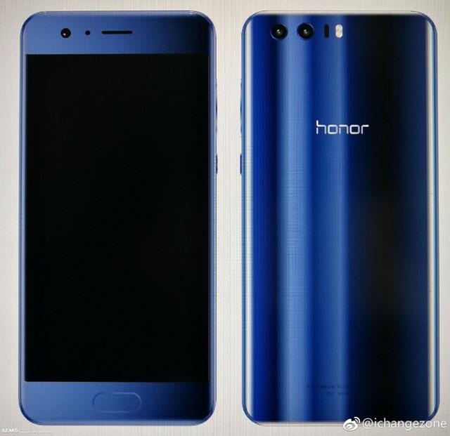 Honor 9 successore di Honor 8 in alcune immagini