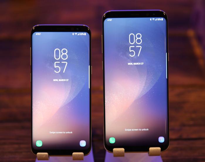 Galaxy S8 e S8+ primo aggiornamento firmware in Italia