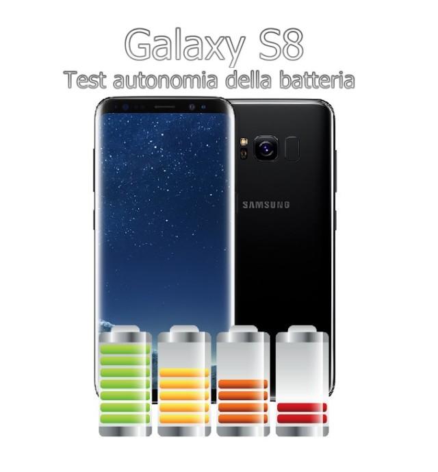 Galaxy S8 recensione autonomia della batteria