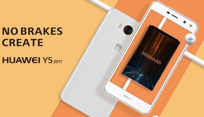 Huawei Y5 2017 ufficiale