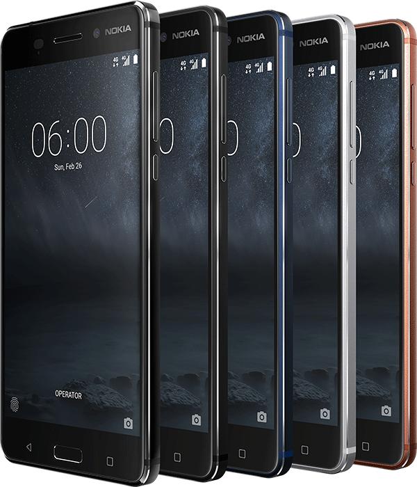 Nokia 6 Android Nougat 7.1.1