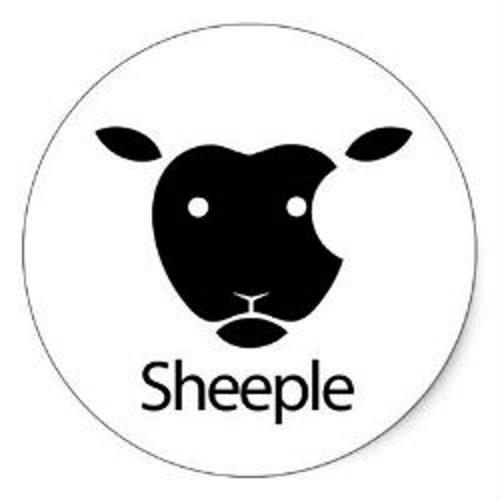 Sheeple la parola che fa riferimento ai fan Apple