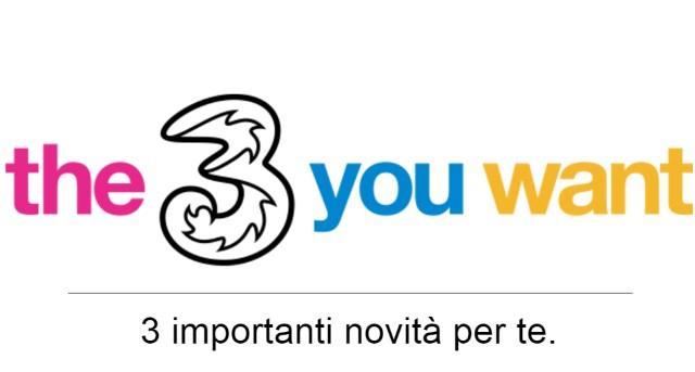 Tre Italia novità maggio 2017