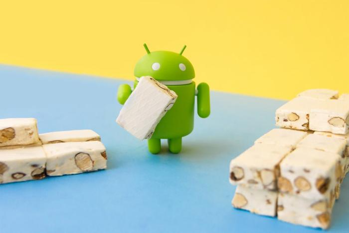Android Nougat quote Aprile 2017