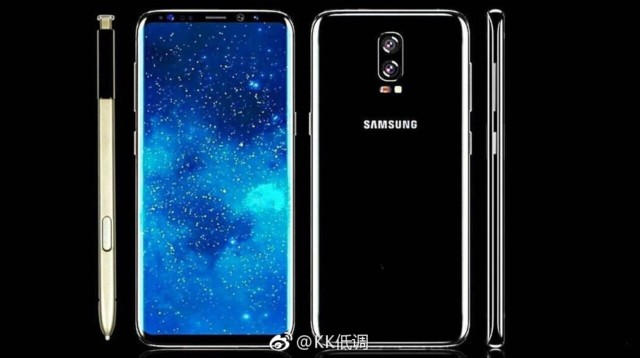 Galaxy Note 8 rumors