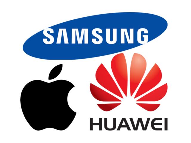 Samsung, Apple e Huawei vendite smartphone 2017