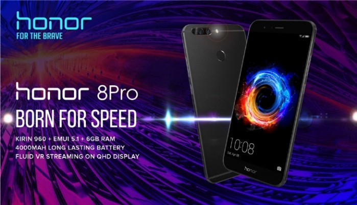 Honor 8 Pro arriva in Italia