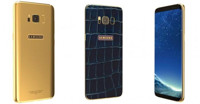 Galaxy S8 e S8+ Legend: rifiniture di lusso