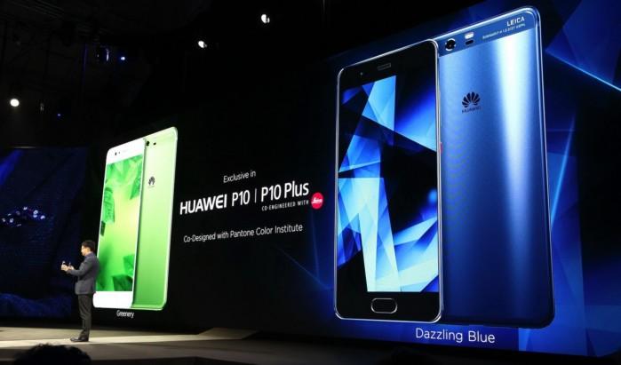 Huawei P10 e P10 Plus memorie con velocità diversa